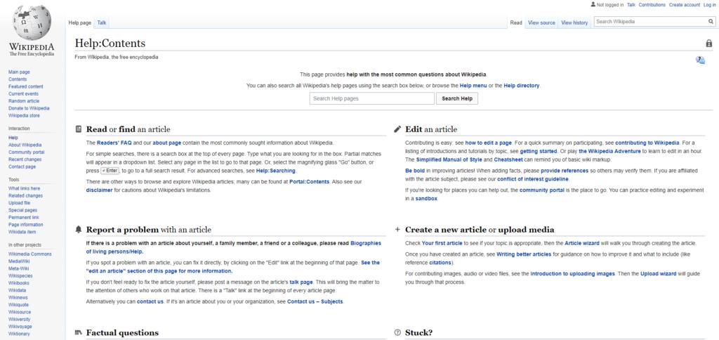 faq wikipedia