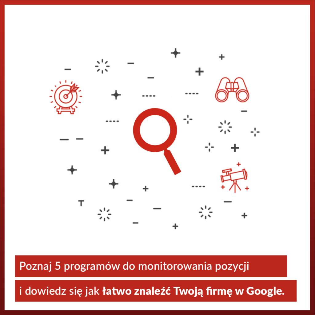 Darmowe i płatne programy do monitorowania pozycji strony w wyszukiwarce Google