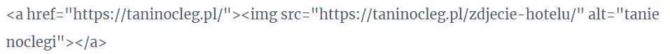 Kod HTML obrazka z linkiem w artykule sponsorowanym