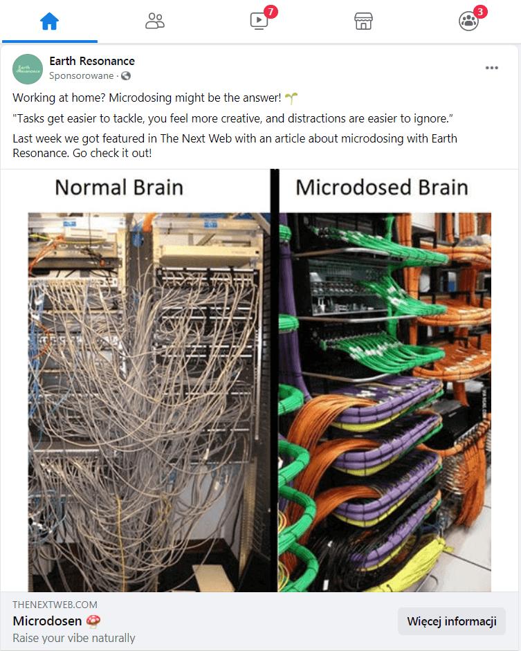 Reklamy na Facebooku