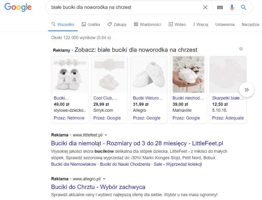 Słowa kluczowe z długiego ogona Google Ads