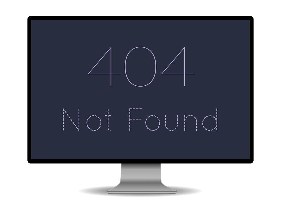 Błędy 404