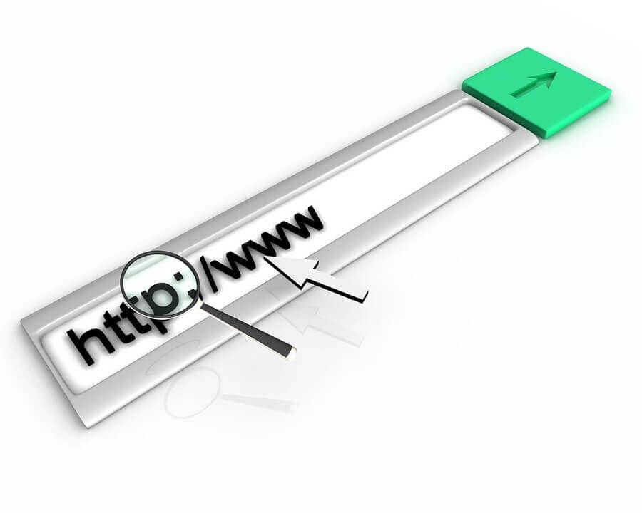 Inny adres strony - domeny