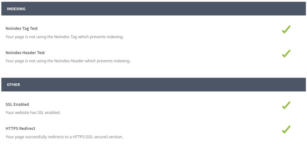 SEO Audit & Reporting Tool od Seoptimer