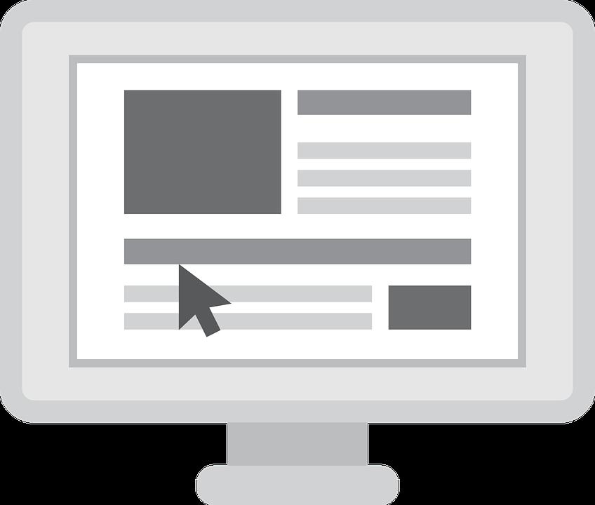 Struktura nagłówków: menu, treści strony