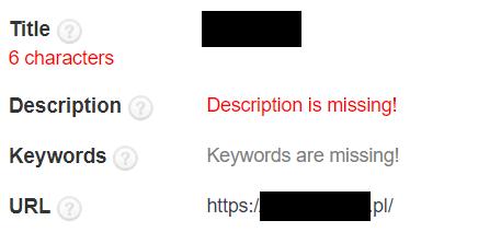Title dla użytkowników i robotów Google